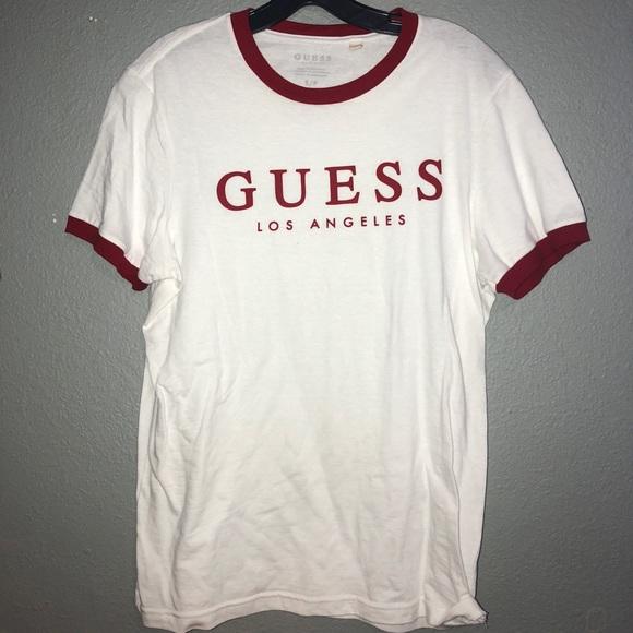 obesegrad x ny ankomst ny autentisk Guess Shirts | Mens Small Logo Shirt | Poshmark